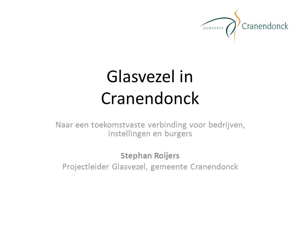 Glasvezel in Cranendonck