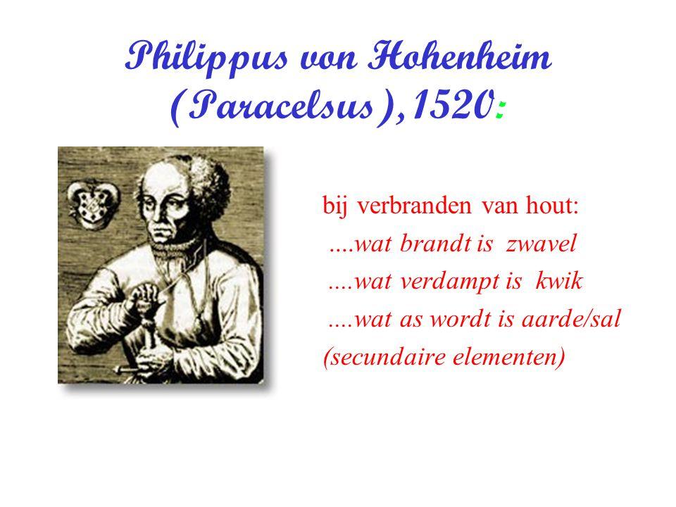 Philippus von Hohenheim (Paracelsus), 1520: