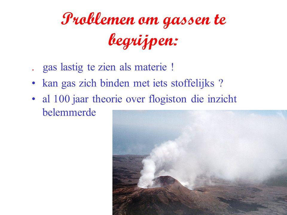 Problemen om gassen te begrijpen:
