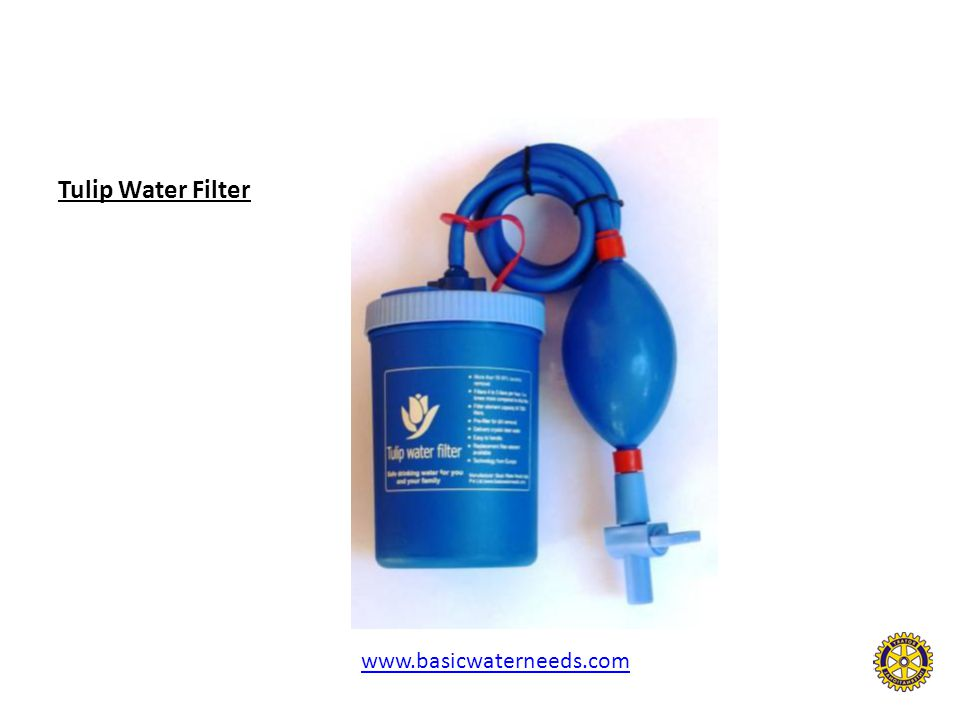 Tulip Water Filter www.basicwaterneeds.com