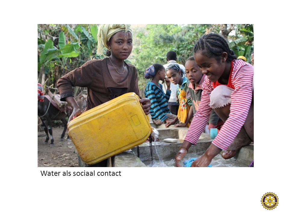 Water als sociaal contact