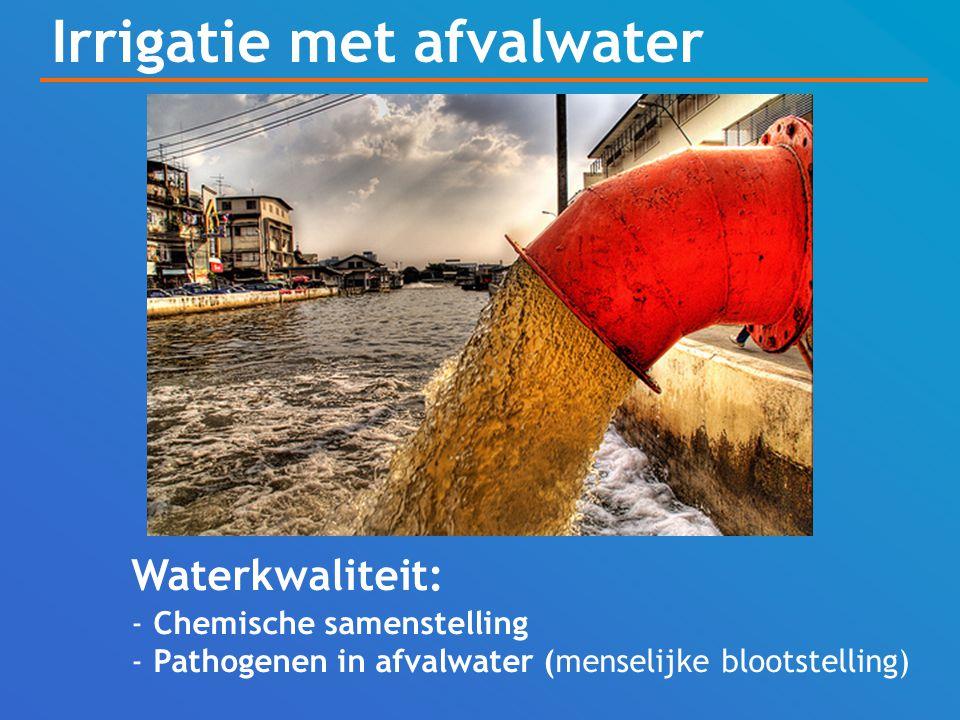 Irrigatie met afvalwater
