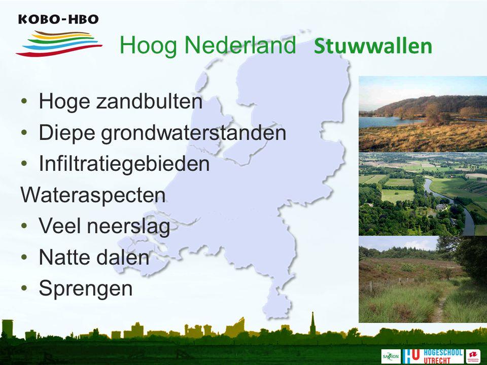Hoog Nederland Stuwwallen