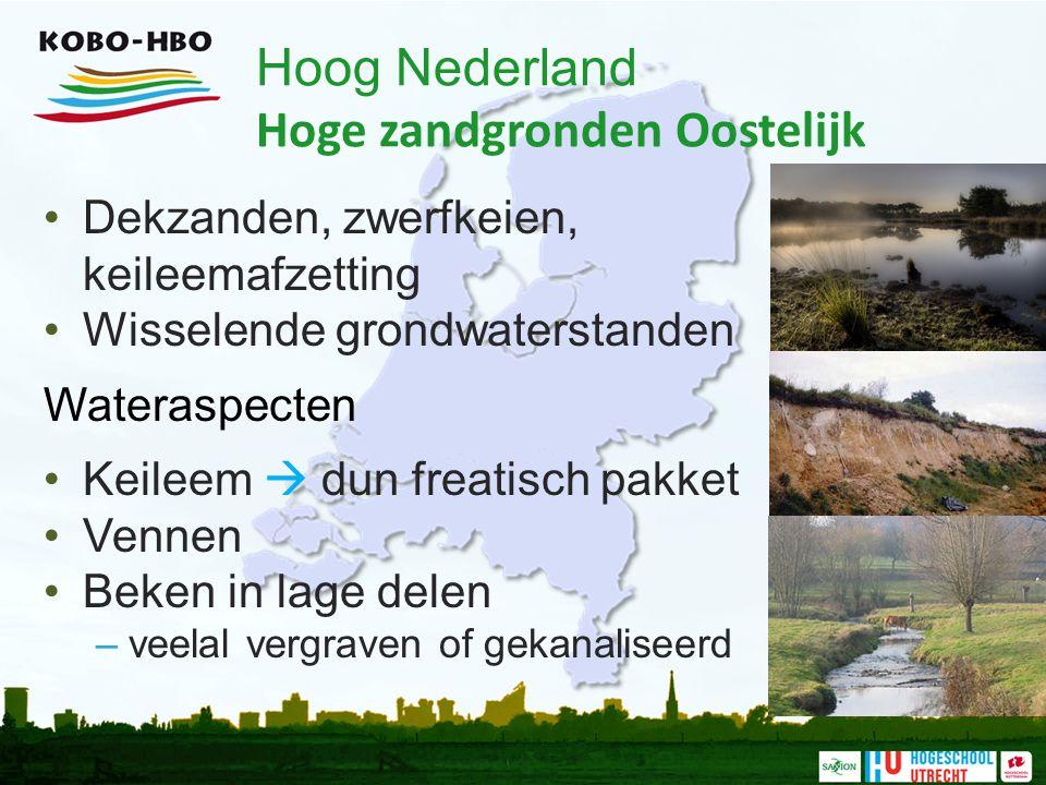 Hoog Nederland Hoge zandgronden Oostelijk