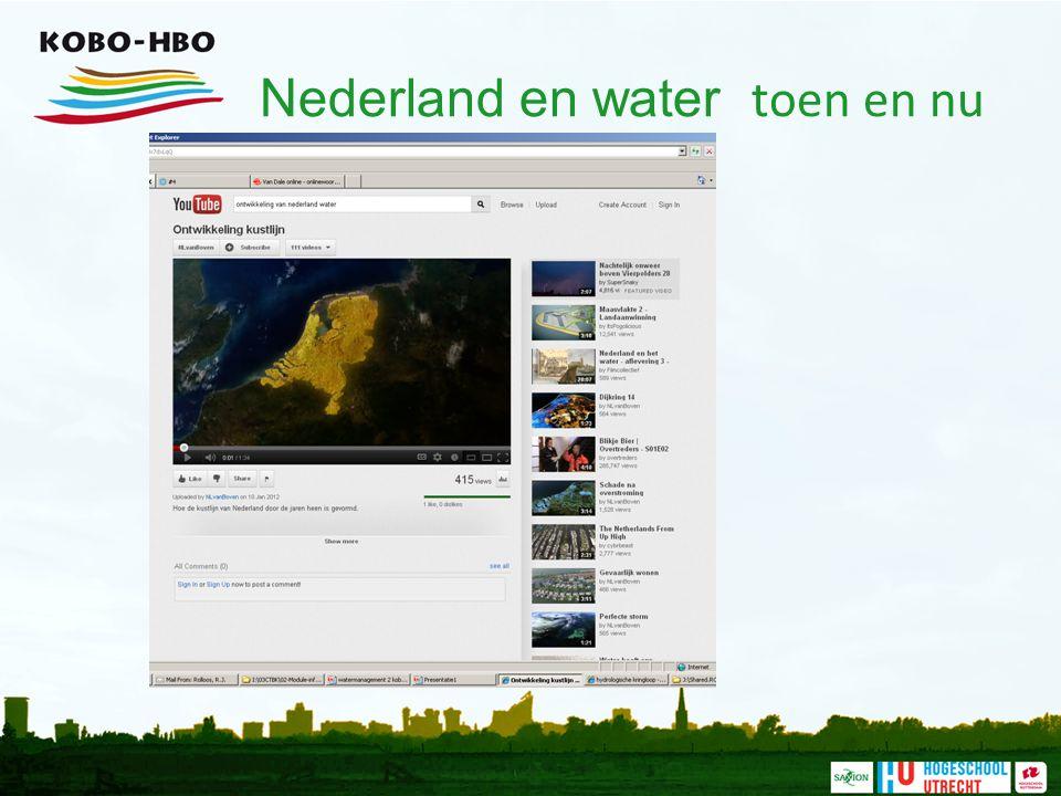 Nederland en water toen en nu