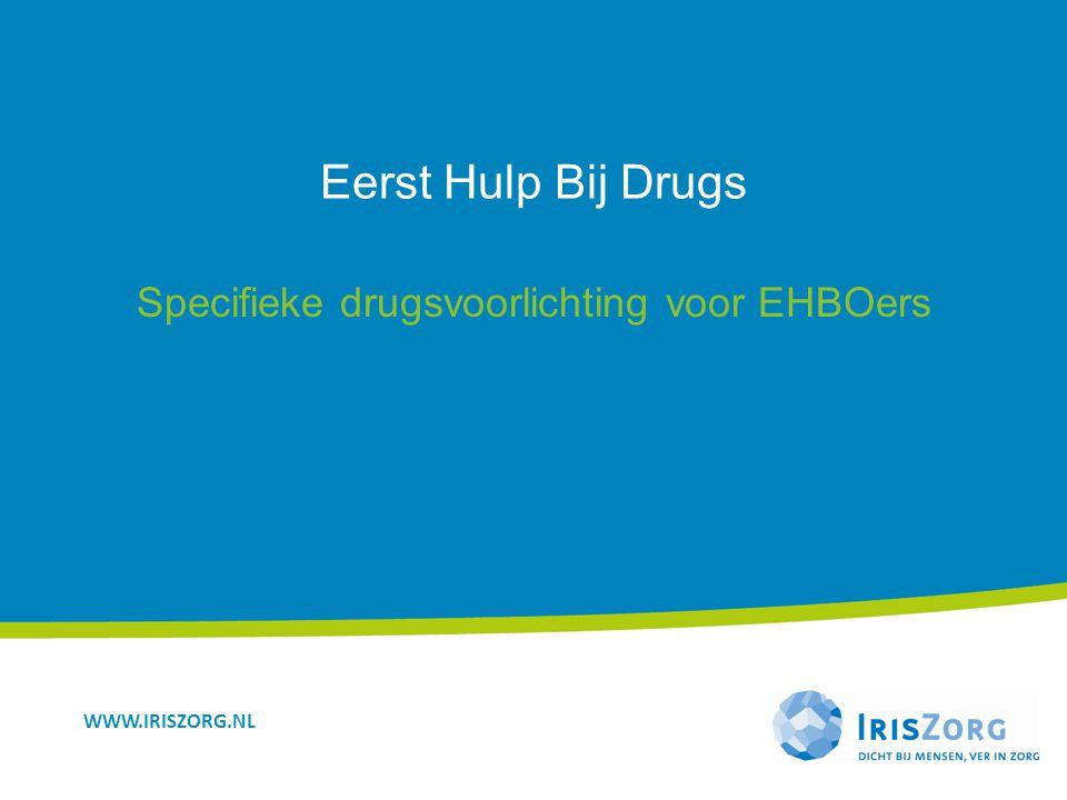 Specifieke drugsvoorlichting voor EHBOers