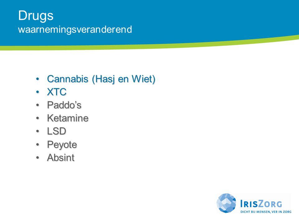 Drugs waarnemingsveranderend