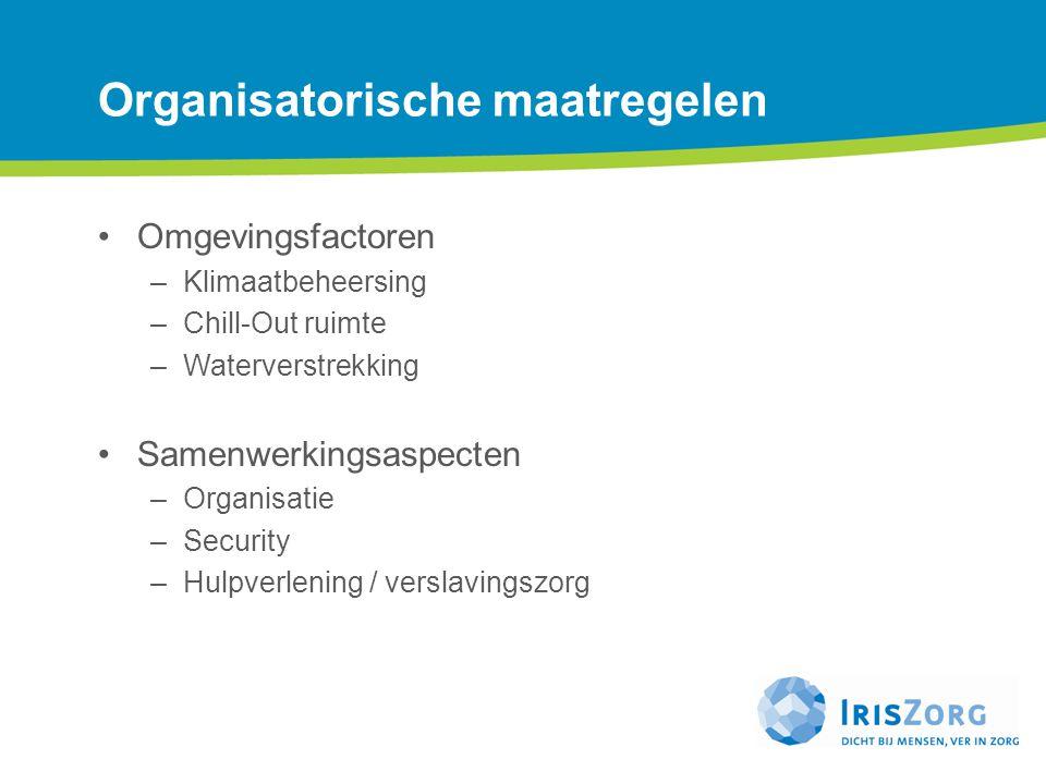 Organisatorische maatregelen