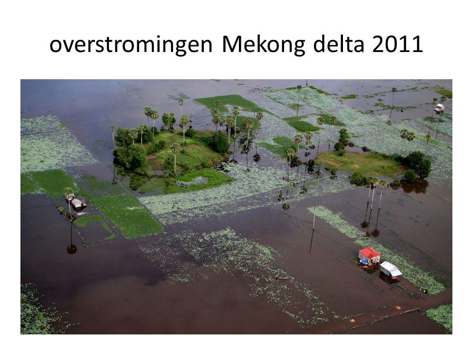 overstromingen Mekong delta 2011