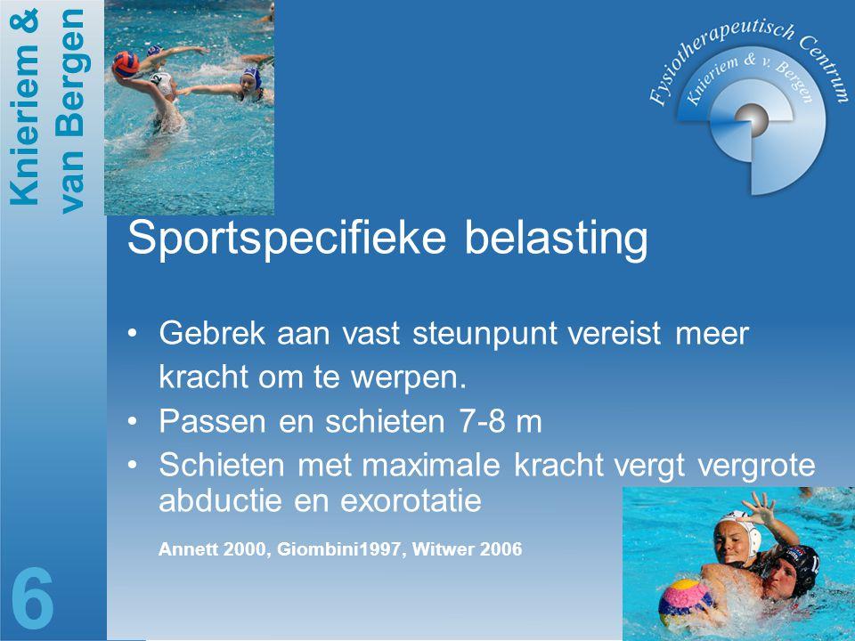 Sportspecifieke belasting
