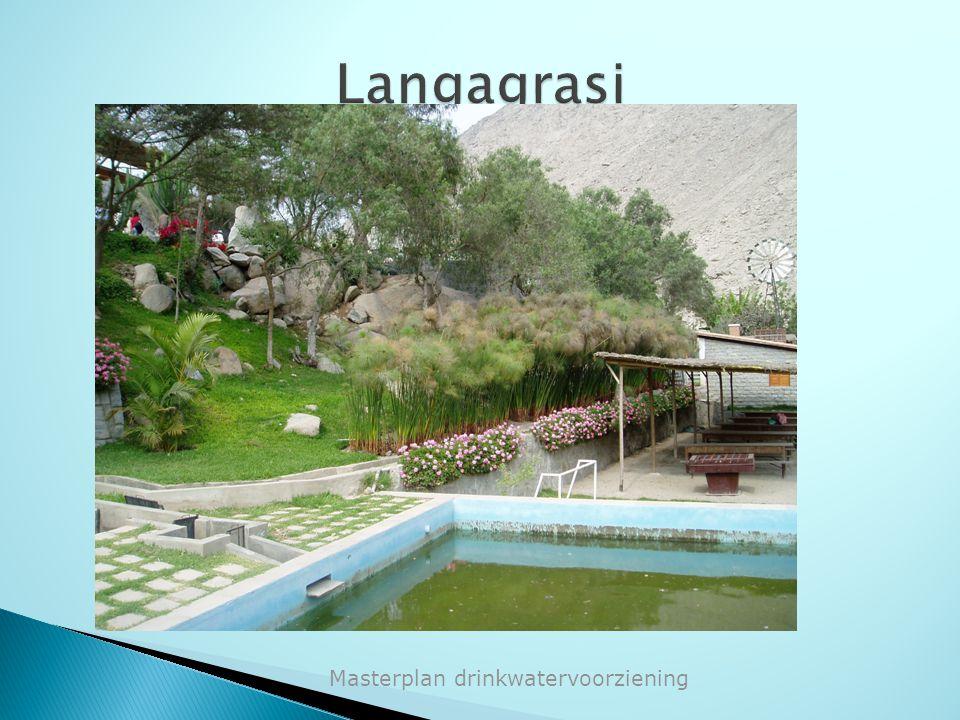 Langagrasi Masterplan drinkwatervoorziening