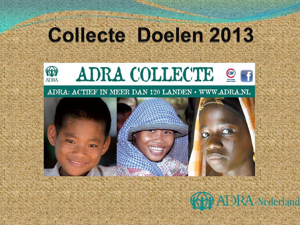 Collecte Doelen 2013