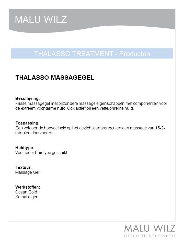 THALASSO MASSAGEGEL Beschijving: