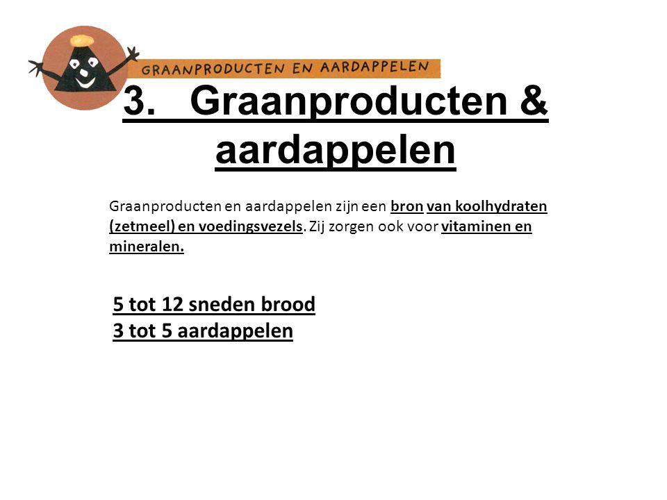 3. Graanproducten & aardappelen