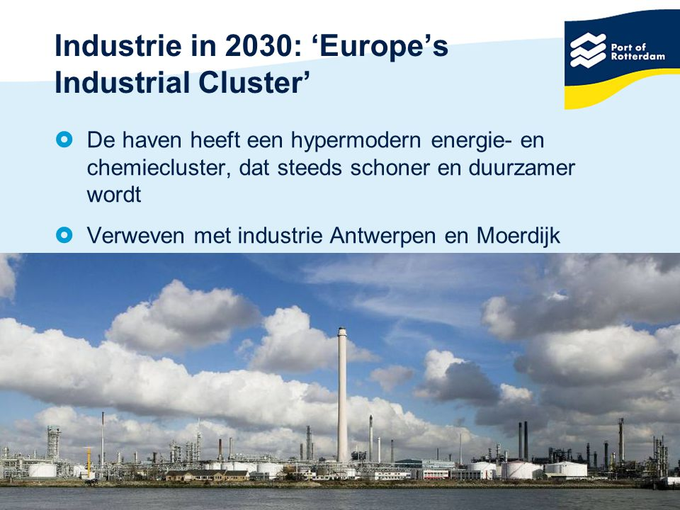 Industrie in 2030: 'Europe's Industrial Cluster'