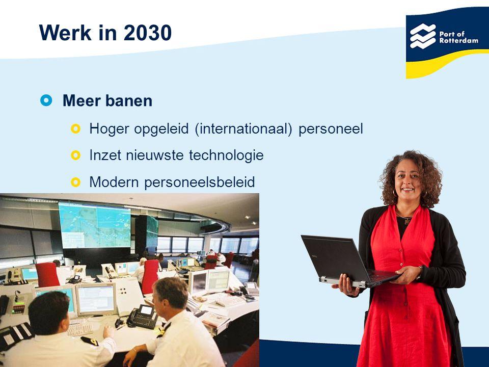 Werk in 2030 Meer banen Hoger opgeleid (internationaal) personeel