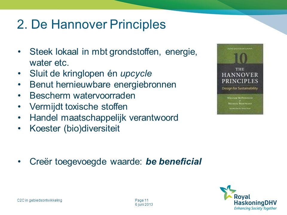 2. De Hannover Principles