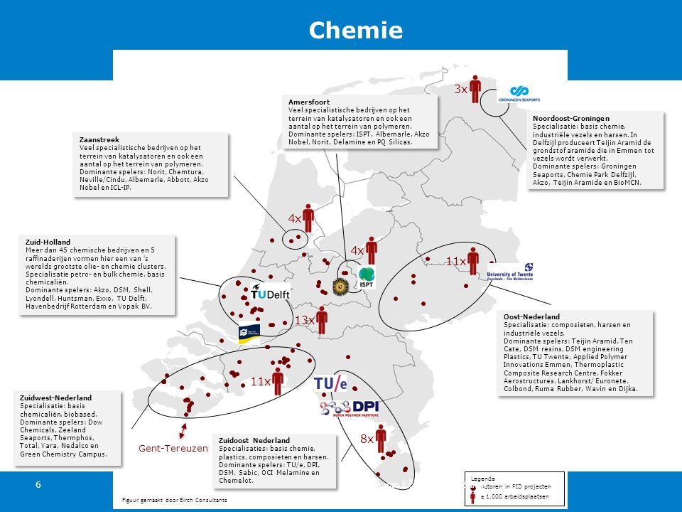 3x 4x 4x 11x 13x 11x 8x Gent-Tereuzen Ministerie van Economische Zaken