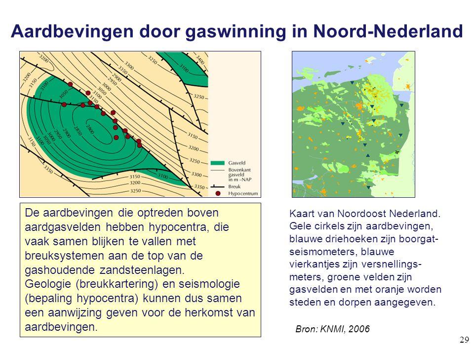 Aardbevingen door gaswinning in Noord-Nederland