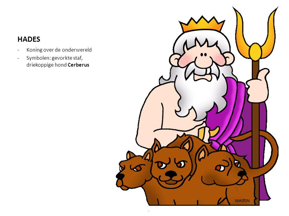 HADES Koning over de onderwereld