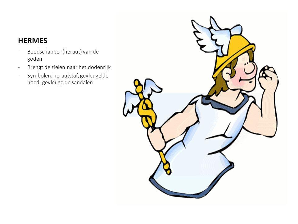 HERMES Boodschapper (heraut) van de goden