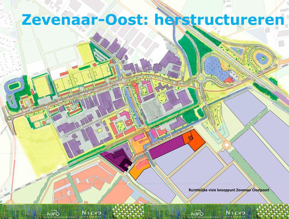 Zevenaar-Oost: herstructureren