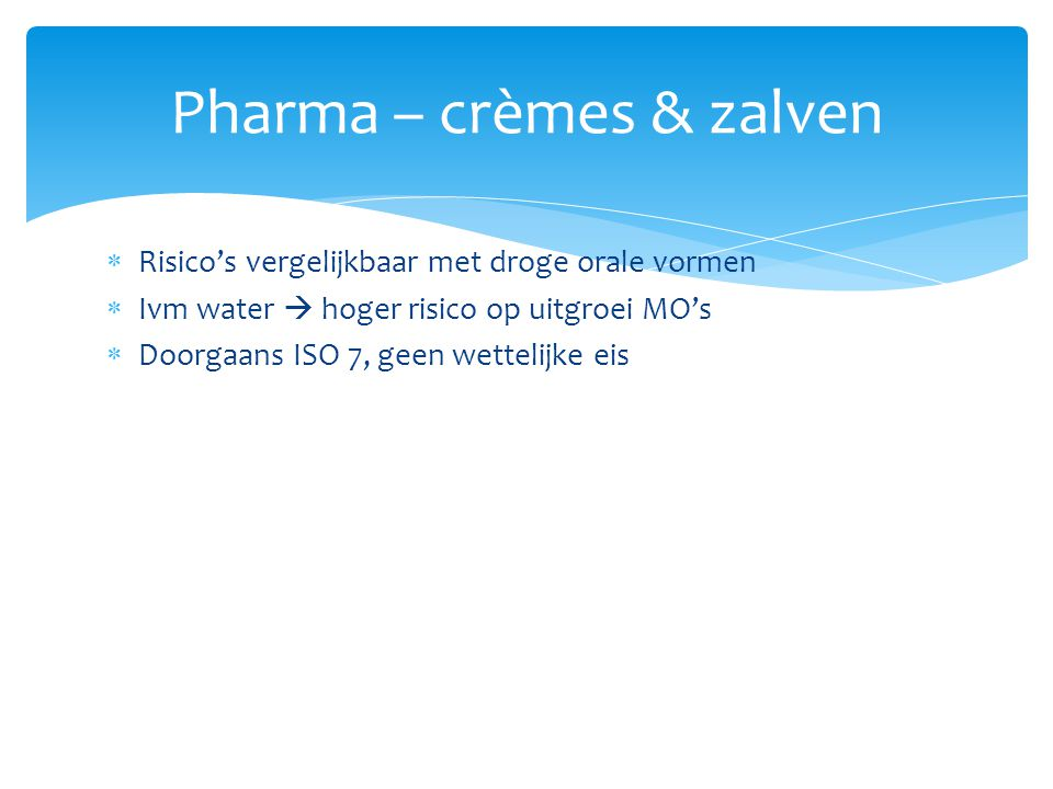 Pharma – crèmes & zalven