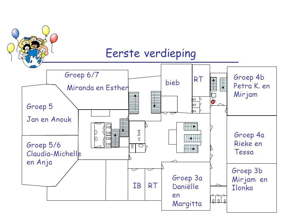 Eerste verdieping Groep 6/7 Miranda en Esther RT