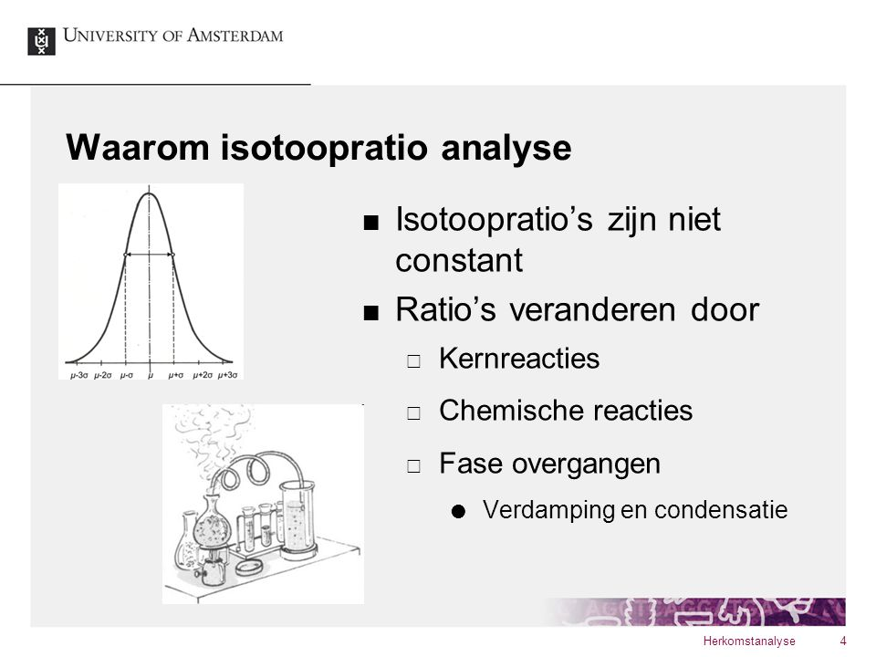 Waarom isotoopratio analyse