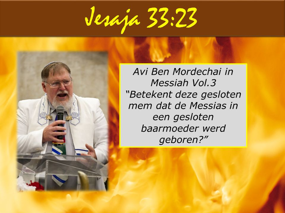 Avi Ben Mordechai in Messiah Vol.3