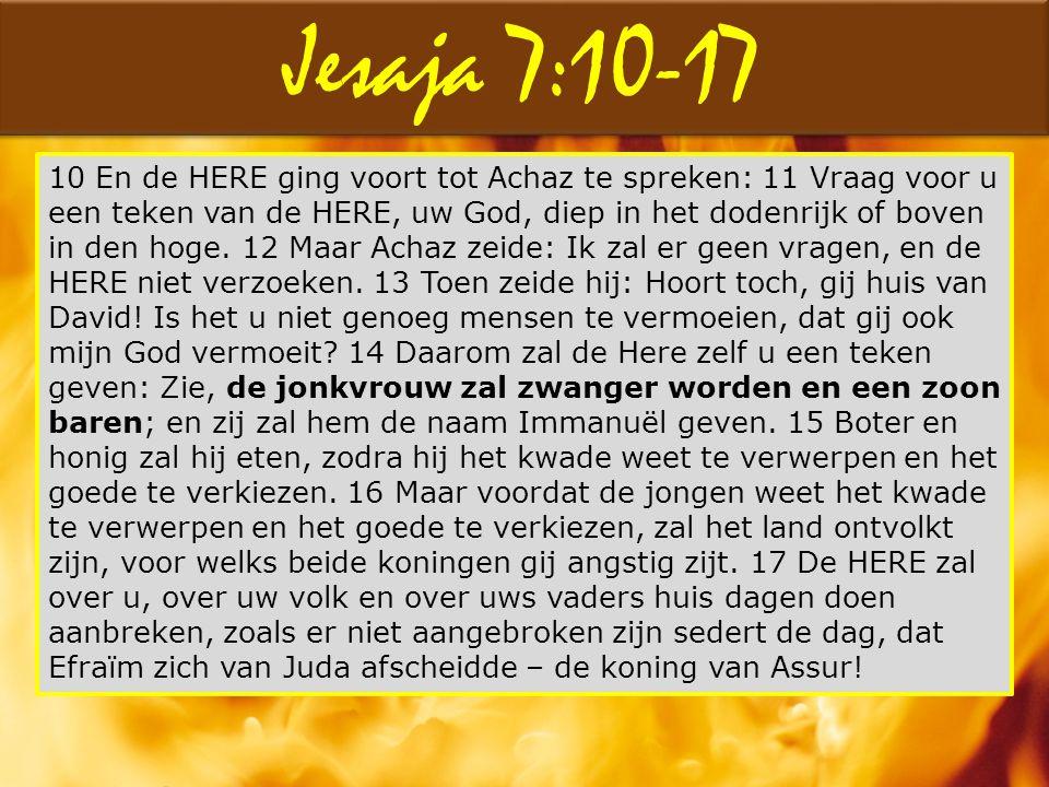 Jesaja 7:10-17