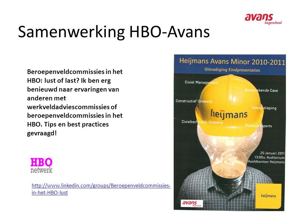 Samenwerking HBO-Avans