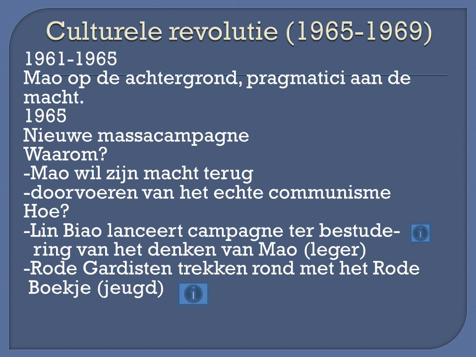 Culturele revolutie (1965-1969)