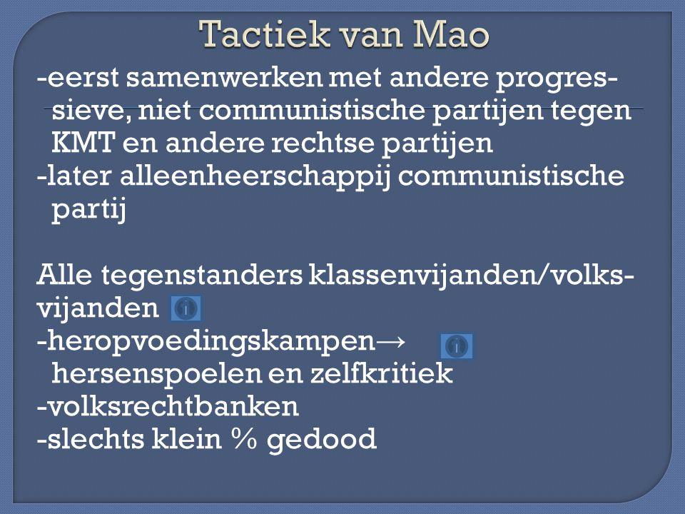 Tactiek van Mao