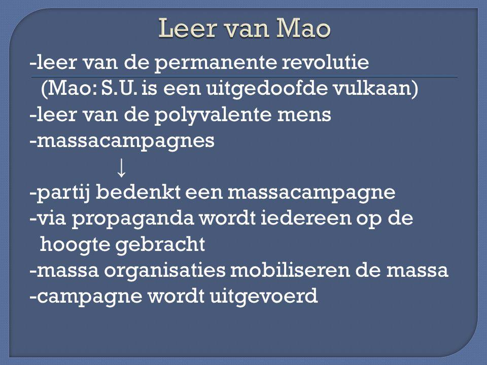 Leer van Mao