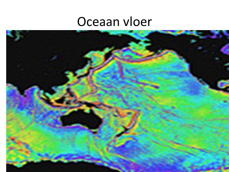 Oceaan vloer Zwart is land: Azië en Noord Amerika zie de breuklijnen