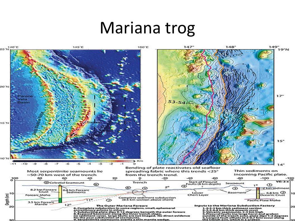 Mariana trog