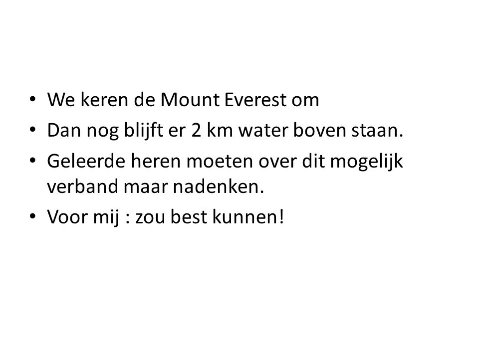 We keren de Mount Everest om