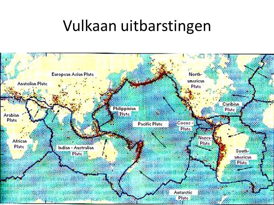Vulkaan uitbarstingen