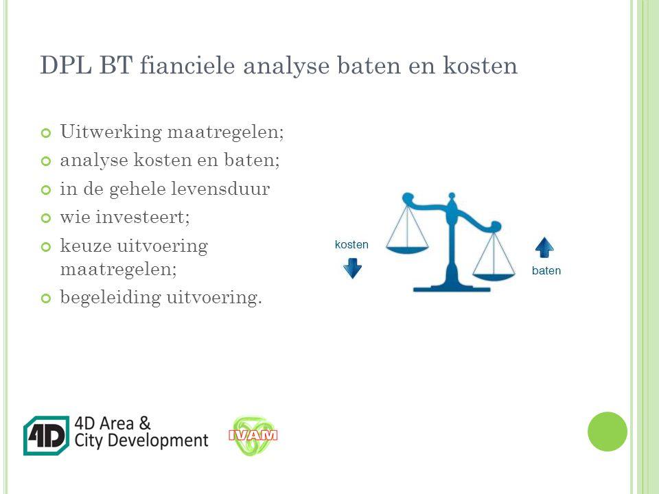 DPL BT fianciele analyse baten en kosten