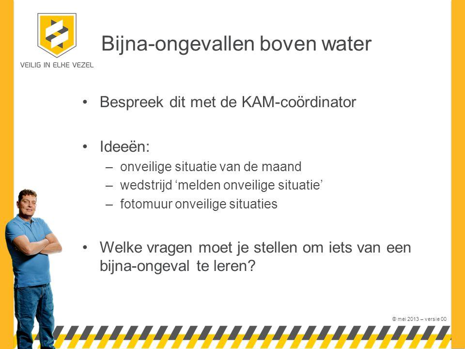 Bijna-ongevallen boven water