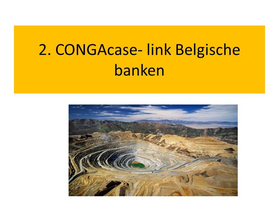 2. CONGAcase- link Belgische banken