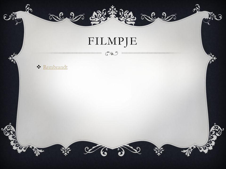 filmpje Rembrandt