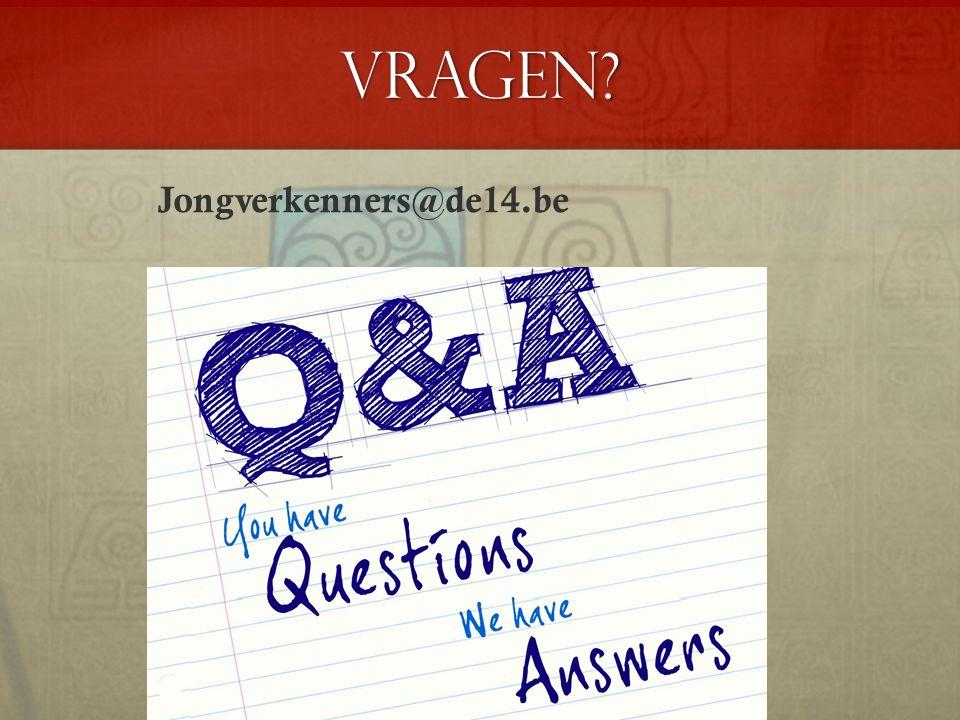 Vragen Jongverkenners@de14.be