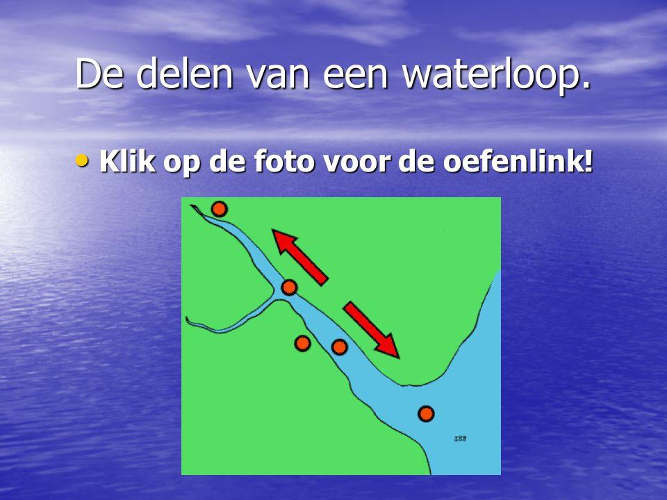 De delen van een waterloop.