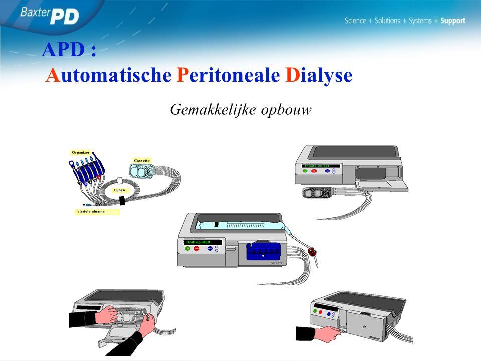 APD : Automatische Peritoneale Dialyse
