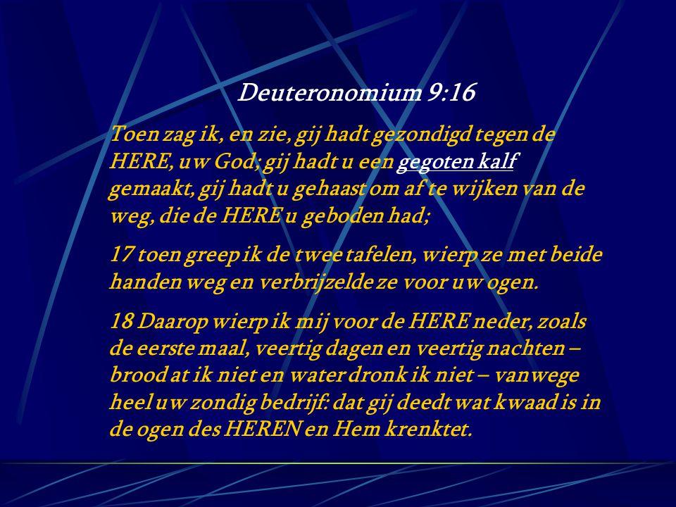 Deuteronomium 9:16