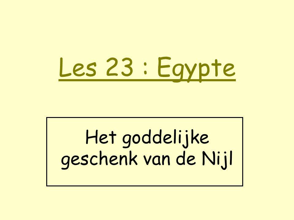 Het goddelijke geschenk van de Nijl