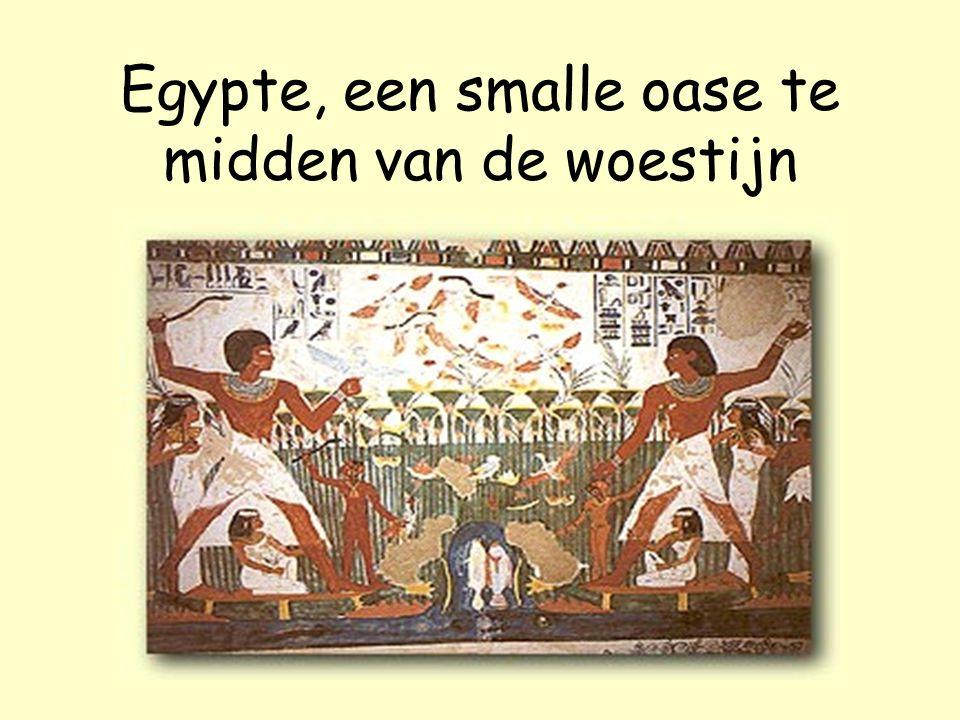 Egypte, een smalle oase te midden van de woestijn