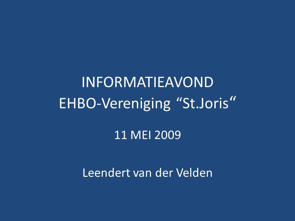 INFORMATIEAVOND EHBO-Vereniging St.Joris
